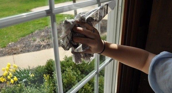 limpiar ventanas sin quimicos