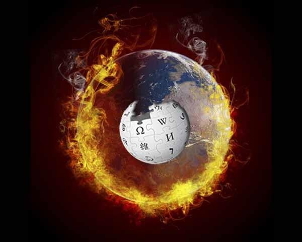 calentamiento global en wikipedia