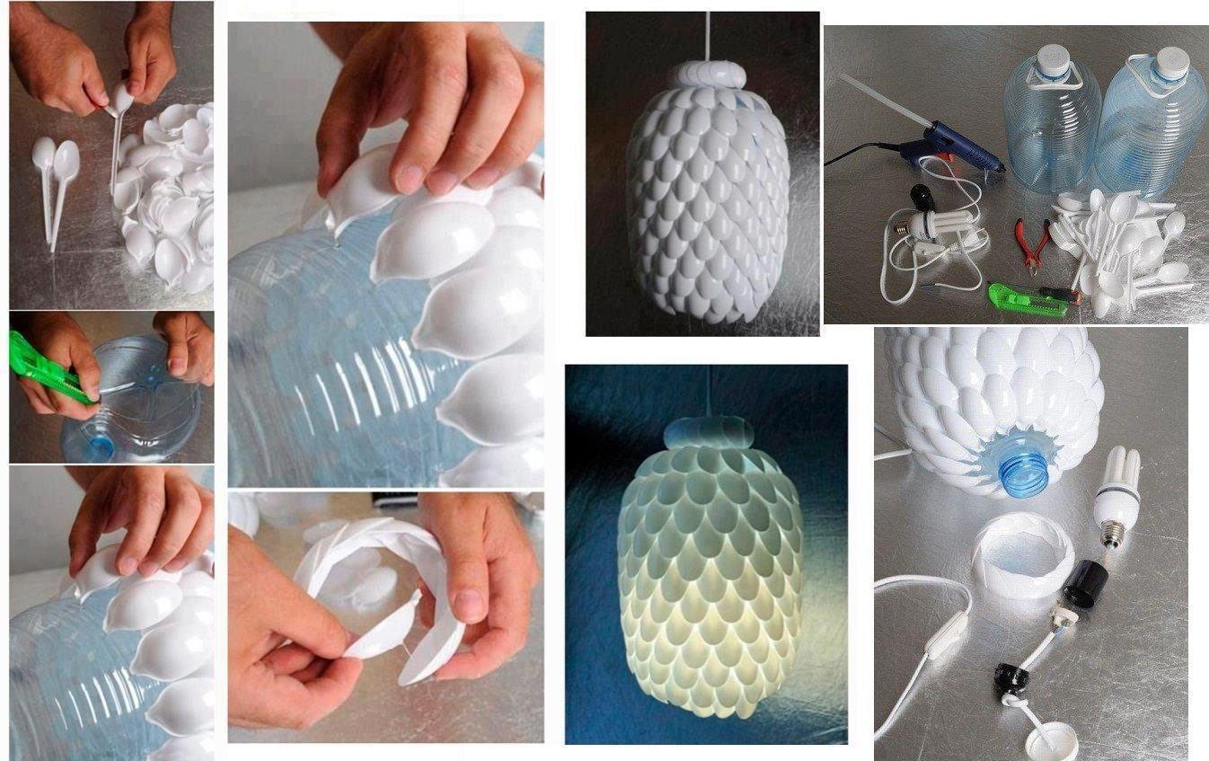 Decoraci n navide a con materiales reciclados Adornos con botellas