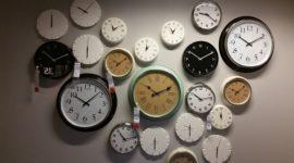 Cuándo es el cambio de hora 2017