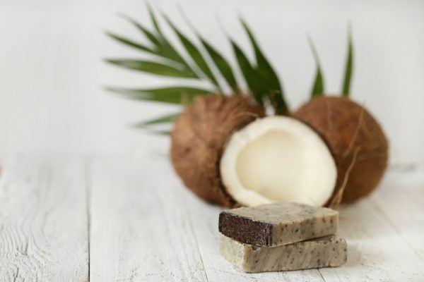 Como hacer jabon casero pastilla coco