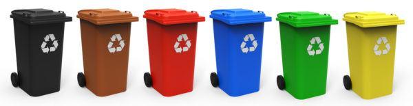 Simbolos reciclaje colores