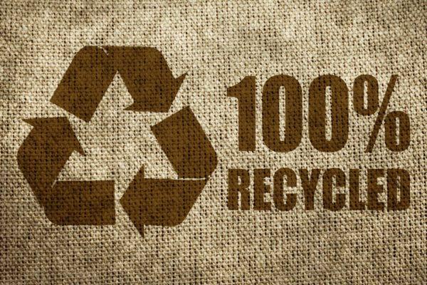 Simbolos reciclaje porcentaje