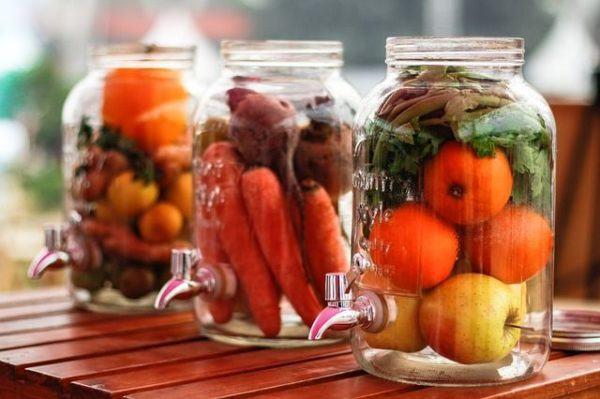 decorar-tarros-de-cristal-o-botes-de-vidrio-con verduras