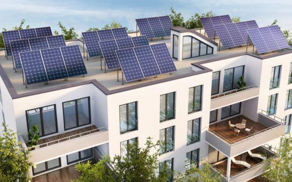 Como funcionan los paneles solares comunidades