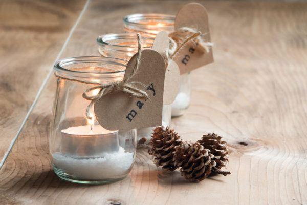 Decoracion navidena con materiales reciclados adornos 2020 velas