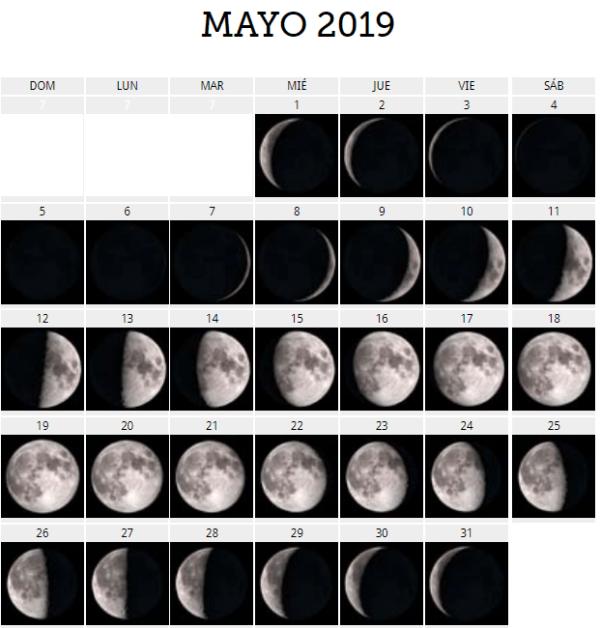 Calendario Lunar 2019 Espana.El Calendario Lunar Agosto 2019 Para Huerto Y El Jardin Erenovable Com