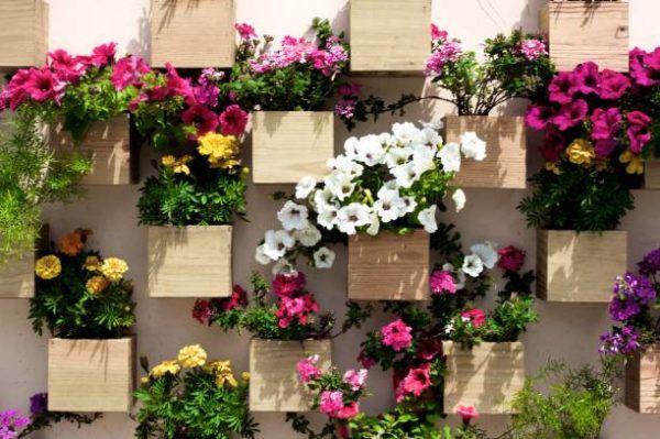Reciclaje ideas para decorar tu casa con plantas cajas